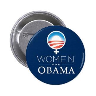Women_for_Obama_Button Pin Redondo De 2 Pulgadas