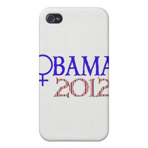 WOMEN FOR OBAMA CASES FOR iPhone 4