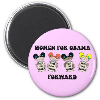 women for obama fridge magnets
