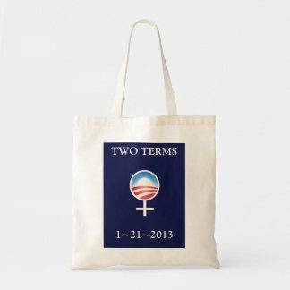 Women for Obama Inauguration Commemorative Tote Budget Tote Bag