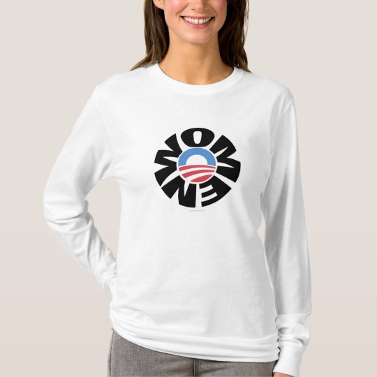 Women for Obama Logo Hoodie