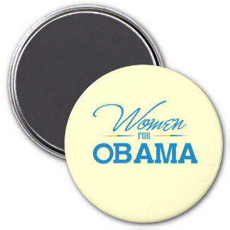Women for Obama 3 Inch Round Magnet
