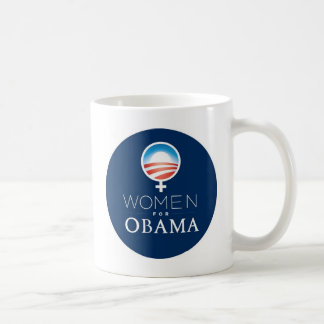 Women_for_Obama_Mug Taza De Café