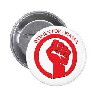 Women for Obama Pinback Button