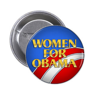 Women for Obama Pins