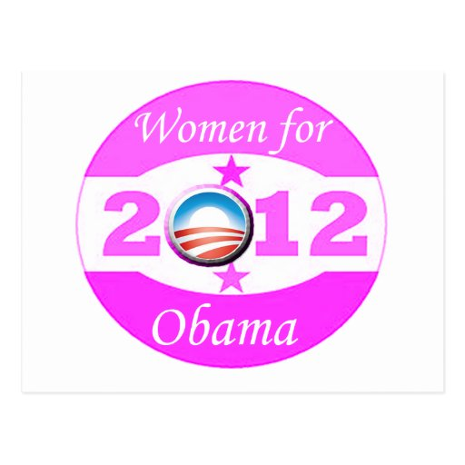 Women for Obama Postcards