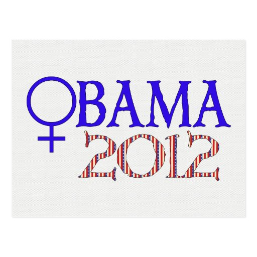 WOMEN FOR OBAMA POST CARD