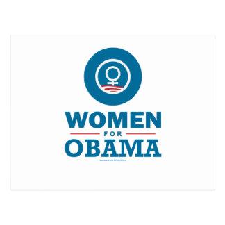Women for Obama Postcard