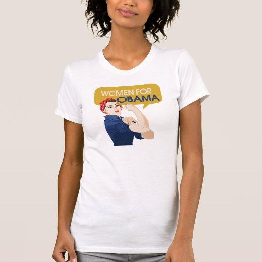 Women for Obama Retro T-Shirt