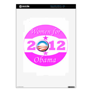 Women for Obama Decals For The iPad 2
