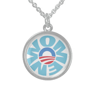 Women for Obama Sterling Necklace
