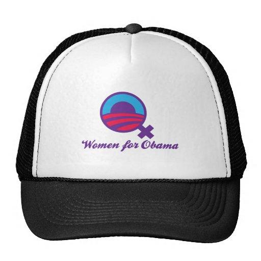 WOMEN-FOR-OBAMA TRUCKER HAT