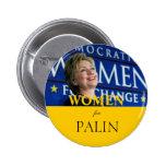 Women for Palin Pins