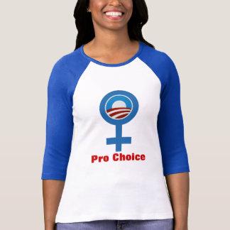 WOMEN FOR Pro Choice Obama 2012 T-SHIRT