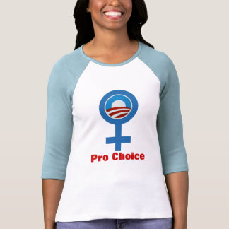 WOMEN FOR Pro Choice Obama 2012 T-SHIRT