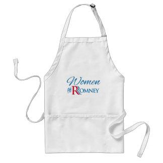 Women for Romney Adult Apron
