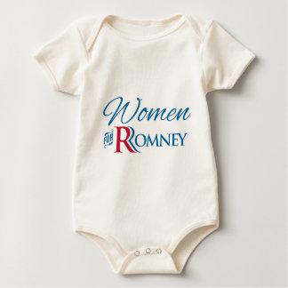 Women for Romney Baby Bodysuit