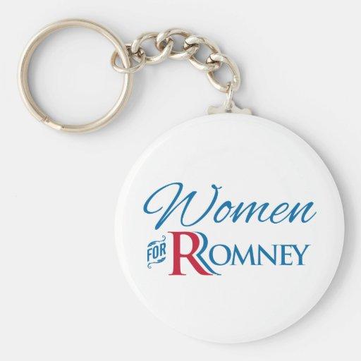Women for Romney Key Chains