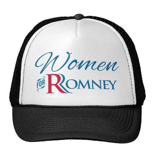 Women for Romney Mesh Hats