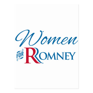 Women for Romney Postcard