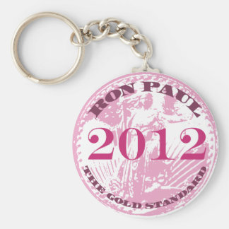 WOMEN FOR RON PAUL BASIC ROUND BUTTON KEYCHAIN