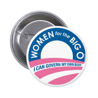Women for the BIG O, button