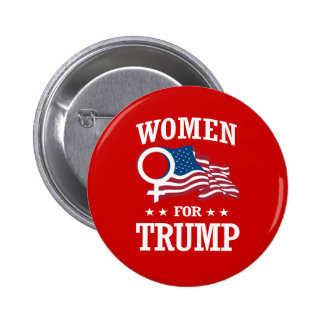 WOMEN FOR TRUMP BUTTON