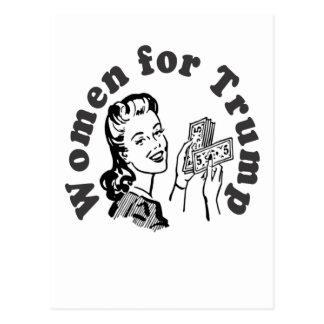 Women for Trump - Money Dollars Donald Postcard