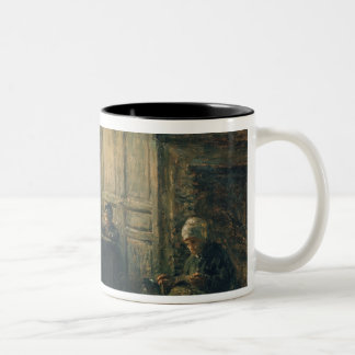 Women Fraying Linen, Honfleur, 1877 Coffee Mugs