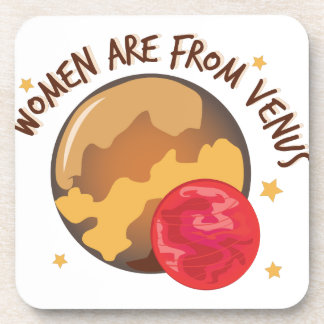 Women From Venus Drink Coaster