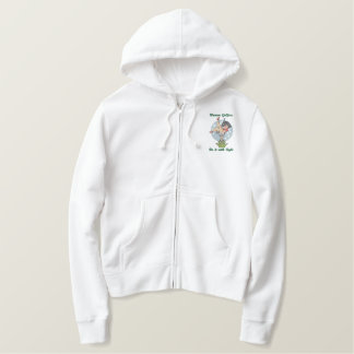 Women Golfers Embroidered Hoodie