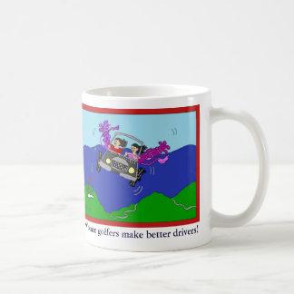 Women Golfers Make Better Drivers Cartoon Mug