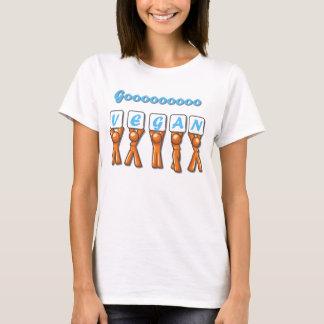 Women Goooo Vegan Baby Doll T-Shirt