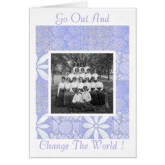 Women Graduates Card