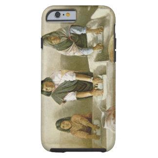 Women Grinding Corn, Pueblo of Laguna, c.1905 (col Tough iPhone 6 Case