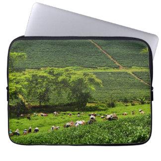 Women Harvesting Tea 2 Laptop Sleeves