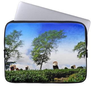 Women Harvesting Tea Laptop Sleeve