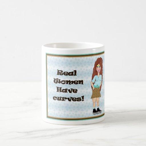 Women Have Curves Classic White Coffee Mug