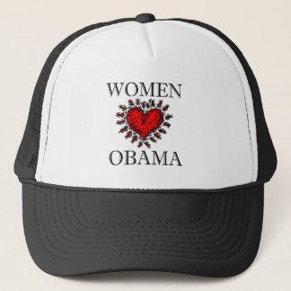 Women Heart Obama Trucker Hat