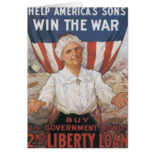Women! Help America's Sons Card