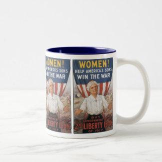 Women! Help America's Sons Mugs