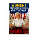Women! Help America's Sons Post Cards