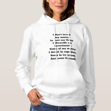 Women Hooded Sweatshirt Funny Saying