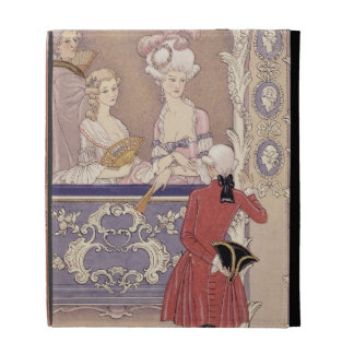 Women in a Theater Box, illustration from 'Les Lia iPad Case