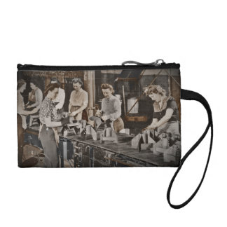 Women in an Assembly Line Coin Purse