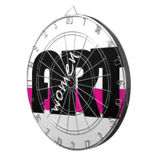 Women in Art custom Dart Board