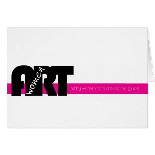 Women in Art (Folded Note Card: Blank inside) Card