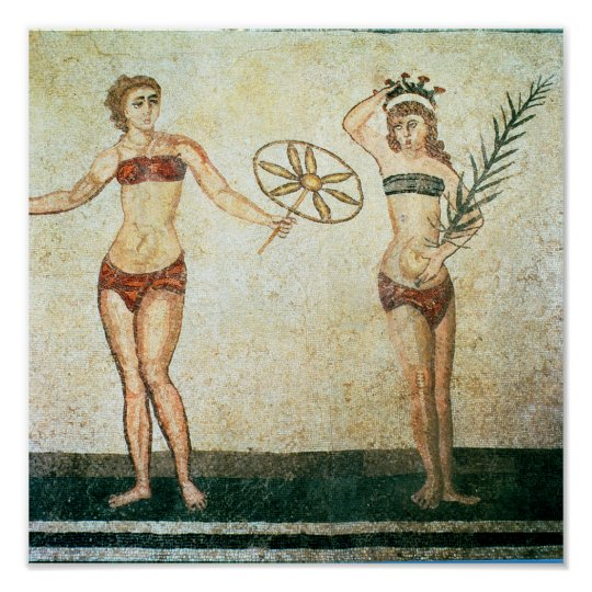 Women in 'bikinis' poster