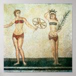 Women in 'bikinis' print