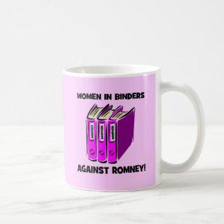 women in binders against Romney Coffee Mugs